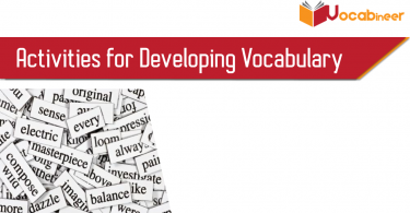 Activities for Developing Vocabulary vocabineer