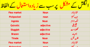 Advanced English Vocabulary in Urdu for CSS - Set 17. Advanced Vocabulary with Urdu meanings for CSS, PMS, FPSC and other exams. The words given below are taken from Dawn newspaper for CSS preparation.