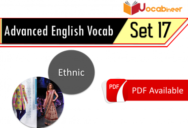 Advanced English Vocabulary in Urdu for CSS - Set 17. Advanced Vocabulary with Urdu meanings for CSS, PMS, FPSC and other exams
