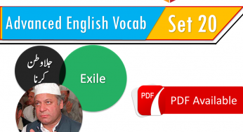 english vocabulary words with meanings in urdu list pdf