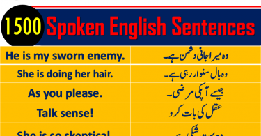 Daily Use English Sentences with Urdu translation PDF Download, daily use English sentences with Urdu translation PDF download, English to Urdu conversation sentences PDF, English sentences used in daily life PDF, Urdu to English sentence translation exercises PDF, English to Urdu sentence daily use PDF, daily use English sentences conversations