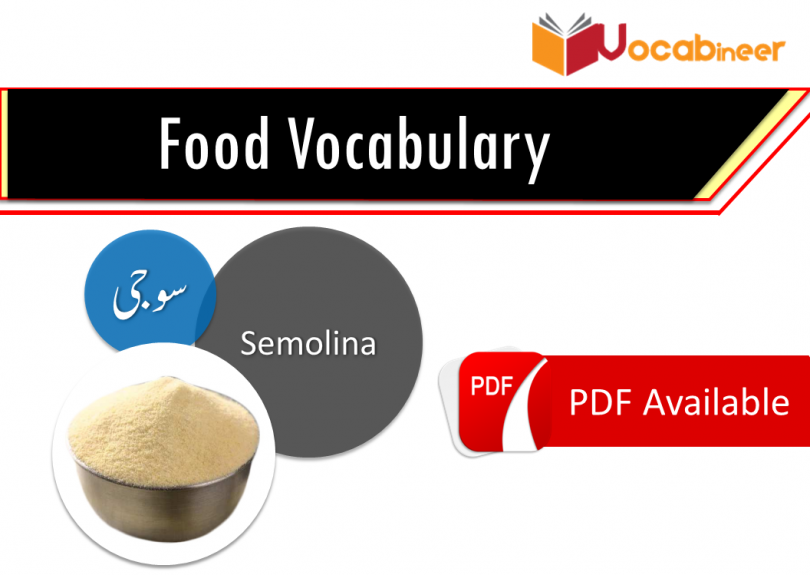 Food Vocabulary and Drinks Vocabulary with Urdu meanings   Vocabineer