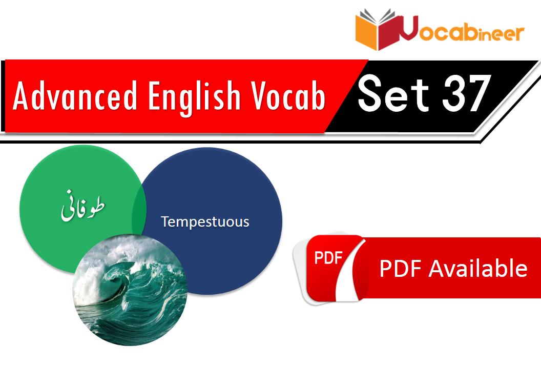 Advanced English Vocabulary 2000 sentences