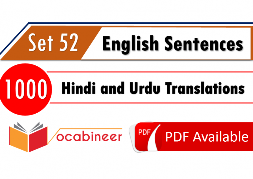 Basic english sentences for daily use pdf