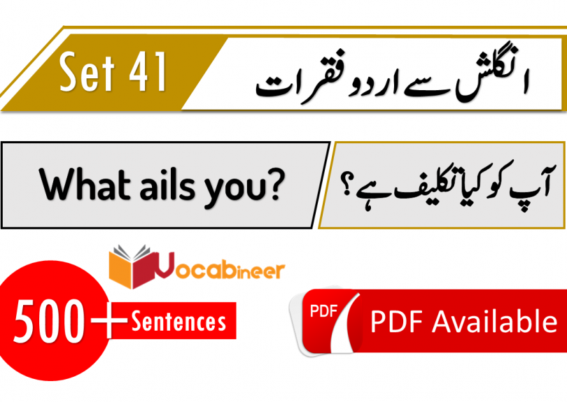 Short Sentences in Hindi Urdu for daily use part 41