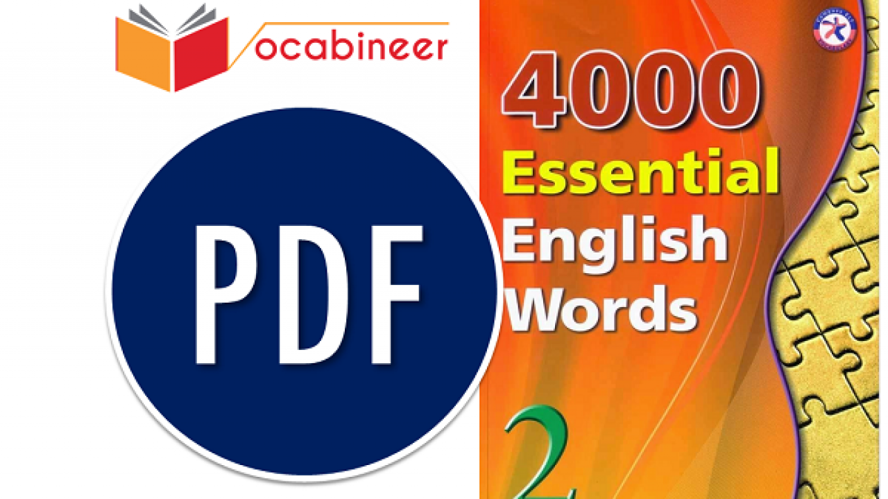 4000 Exams English Words With Meanings/ Sentences Get PDF Book