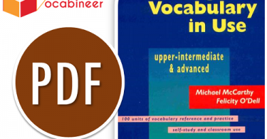 English Vocabulary in Use Upper Intermediate and advanced Download EBook
