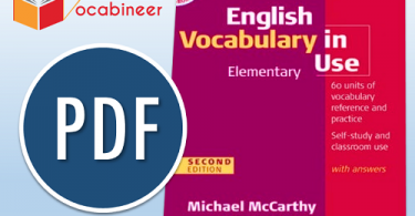 Download Elementary English Vocabulary in Use eBook, Elementary English Vocabulary in use first edition PDF
