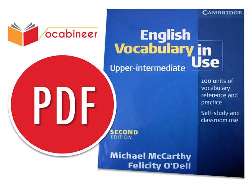 English Vocabulary in Use Upper Intermediate and advanced