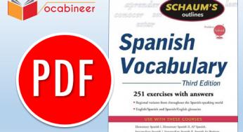Spanish to English learning Books