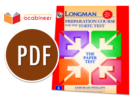 LONGMAN PREPARATION COURSE FOR THE TOEFL IBT PDF | Vocabineer