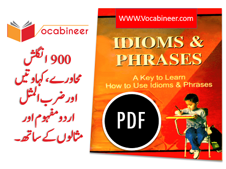 900 Idioms And Phrases PDF Book With Urdu Meanings | Vocabineer
