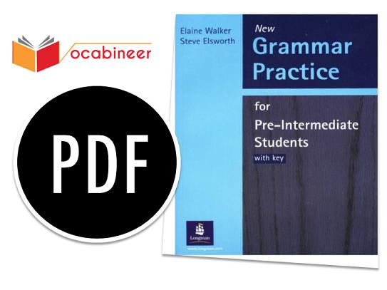 Longman Grammar Practice For Pre-Intermediate Students PDF