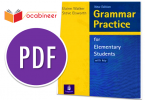 Download Grammar Practice for Elementary Students PDF