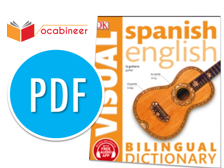 Spanish English Bilingual Visual Dictionary Download PDF