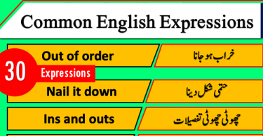 30 Common Phrases And Expressions With Urdu Hindi Download PDF