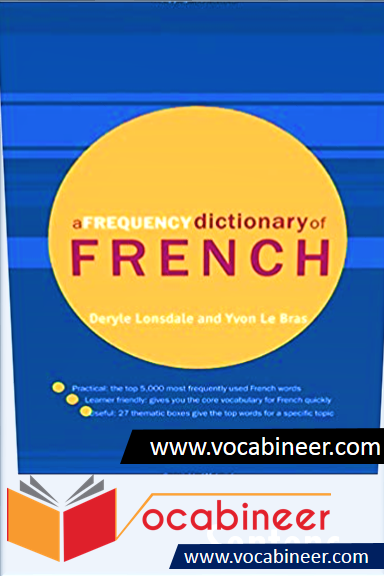 A Frequency Dictionary of French Download Free PDF