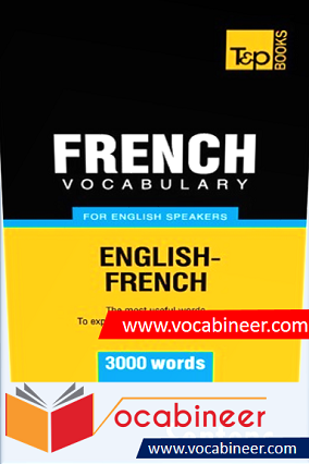 French Vocabulary for English Speakers - 3000 Words Download PDF
