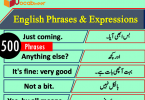 Short English Phrases & Expressions in Hindi / Urdu Meanings PDF, 500 English phrases and expressions PDF, English phrases in Urdu PDF, English to Hindi phrases PDF, Hindi phrases PDF, Urdu phrases PDF