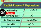 Short English Phrases & Expressions in Hindi / Urdu Meanings PDF, 500 English phrases and expressions PDF, English phrases in Urdu PDF, English to Hindi phrases PDF, Hindi phrases PDF, Urdu phrases PDF