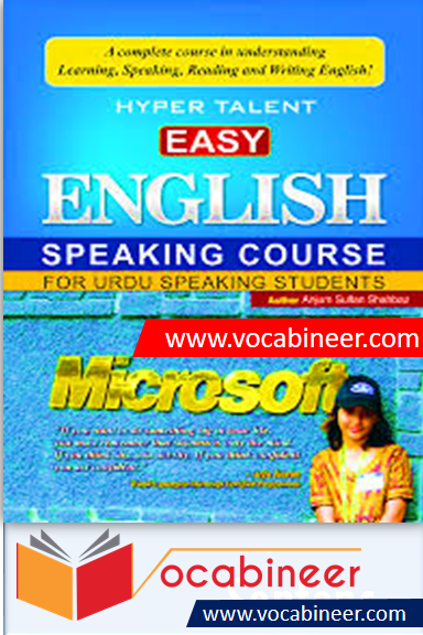 EASY ENGLISH SPEAKING COURSE FOR URDU SPEAKING STUDENTS PDF | Vocabineer