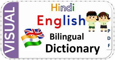 Hindi-English Visual Bilingual Dictionary PDF Download Free