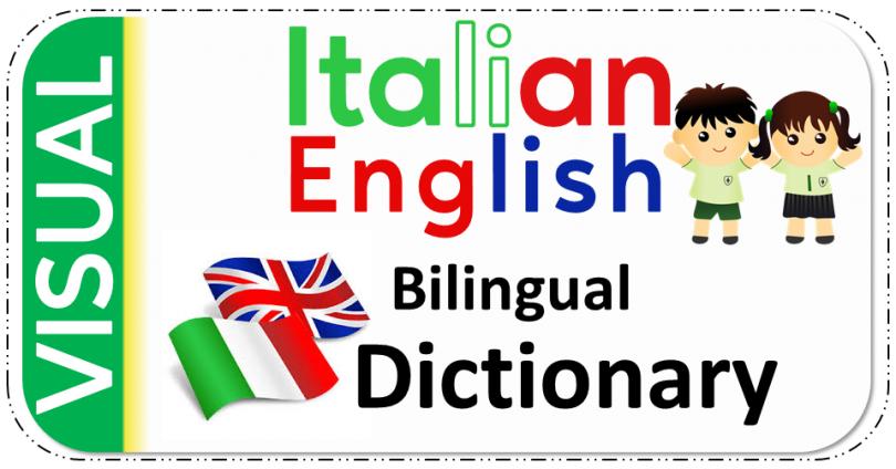 Italian English Bilingual Visual Dictionary PDF Download Free