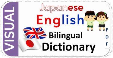 Japanese-English Bilingual Visual Dictionary PDF Download Free