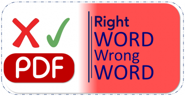 Right Word Wrong Word PDF Free Download