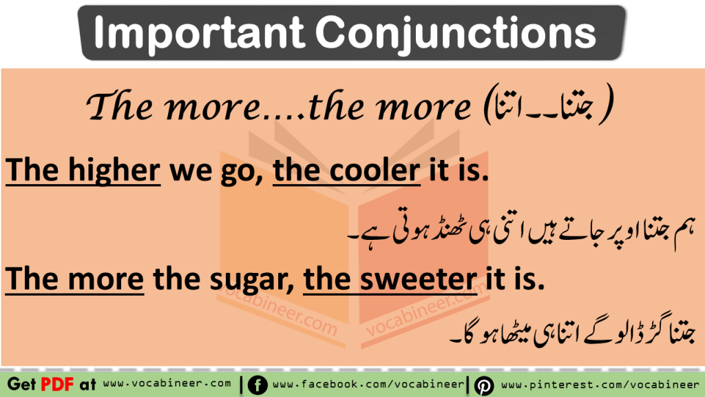 Use of Important Conjunctions watch video lesson with Urdu & Hindi Explanation Download PDF Lesson. Learn use of important conjunctions and their uses with Examples in Urdu & Hindi translation, Spoken English Course in Urdu and Hindi, English Grammar in Urdu, English Vocabulary Words in Urdu & Hindi, Urdu Words, Hindi Words, Parts of speech in Urdu, Parts of speech, English Vocabulary Words, English Grammar, Spoken English Course