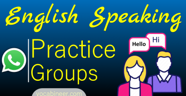 Join WhatsApp Groups for Speaking English Practice with Native Speakers